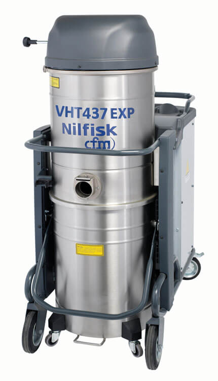 VHT437 EXP Continuous-Duty, Certified Explosion-Proof Vacuum