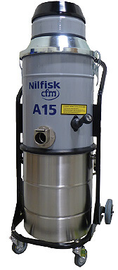 A15DX NFPA 654 Compliant Industrial Vacuum