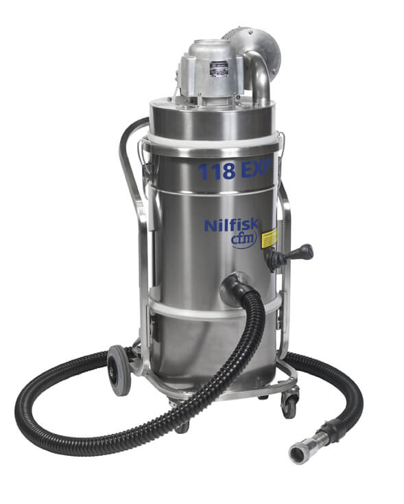 118 EXP Certified Explosion-Proof Vacuum Cleaner